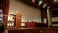 Ο Κώστας Μάρκου έδωσε το παρών στην εκδήλωση του Εθνικού Συμβουλίου Διεκδίκησης των Οφειλών της Γερμανίας