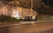 Δύο νεκροί σε τροχαίο στη Θεσσαλονίκη (φωτο)
