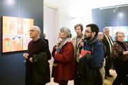 Εγκαινιάστηκε η έκθεση «Μια μυθοπλασία του αστικού χώρου» στο Αίγιο (φωτο)