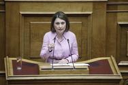 Η Χριστίνα Αλεξοπούλου συγχαίρει τον Μιχάλη Δίπλαρο