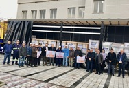 ΓΣΕΕ: Ανθρωπιστική βοήθεια στον δοκιμαζόμενο λαό της Αλβανίας (φωτο)