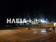 Ηλεία: Έπεσε αυτοκίνητο στο λιμάνι της Κυλλήνης