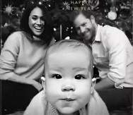 Η χριστουγεννιάτικη κάρτα του πρίγκιπα Χάρι και της Μέγκαν Μαρκλ!