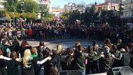 Αγρίνιο - Πλήθος κόσμου συμμετείχε στο χριστουγεννιάτικο παραδοσιακό γλέντι (video)