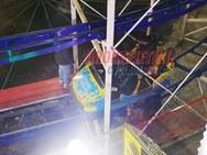 Τρία παιδιά τραυματίστηκαν στο χριστουγεννιάτικο πάρκο των Τρικάλων (pics+video)