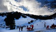 Αχαΐα: Στα 'λευκά' το χιονοδρομικό κέντρο στα Καλάβρυτα (video)