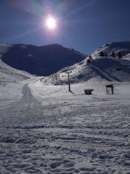 Μαγευτική η σημερινή ημέρα στο Χιονοδρομικό Κέντρο Καλαβρύτων