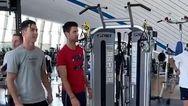 Cristiano Ronaldo - Novak Djokovic: Συνάντηση στο γυμναστήριο (video)