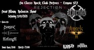 Rejection New Album Release Show στο No Class - Rock Club Patras