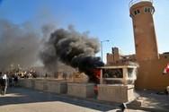 Διαδηλωτές πυρπόλησαν φυλάκιο στην πρεσβεία των ΗΠΑ στο Ιράκ