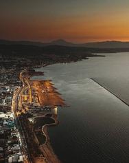 Πάτρα - Όταν χάνεται η μέρα στο νέο λιμάνι (φωτο)