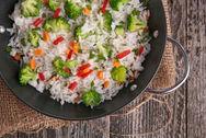 Σαλάτα με ρύζι μπασμάτι