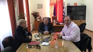 Συνάντηση του Δημάρχου Αιγιαλείας και της Προέδρου της ΔΗ.Κ.ΕΠ.Α με τον Ανδρέα Φίλια!