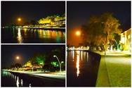 H νύχτα στην παραλιακή του Αιγίου (φωτο)