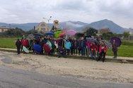 Οι πεζοπόροι της Πάτρας πήραν τις ομπρέλες τους και έκαναν την πρώτη τους βόλτα για το 2020 (φωτo)