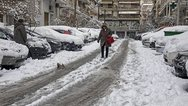 «Σαρώνει» τη χώρα o Ηφαιστίων με χιόνια, διακοπές ρεύματος και κλειστούς δρόμους