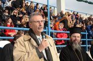 Πάτρα: Ο Τάκης Πετρόπουλος στην εκδήλωση του ΝΟΠ