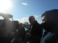 Στην Πάτρα ο Γιώργος Παπανδρέου την ημέρα των Θεοφανείων (video)