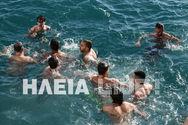 Κατάκολο: Χάθηκε ο Τίμιος Σταυρός στα νερά του λιμανιού (φωτο)