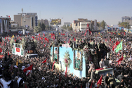 Ιράν - Λαοθάλασσα για την ταφή του Κασέμ Σουλεϊμανί