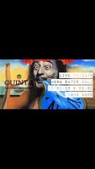 Mona dates Dali feat Magma band at Quinta Jazz Bar