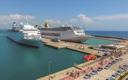 Λιμάνι Κατακόλου - Σταθερά στα top 5 με τις περισσότερες αφίξεις κρουαζιερόπλοιων και το 2019