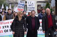 Πάτρα: H Δημοτική Αρχή στην συγκέντρωση κατά της συμφωνίας Ελλάδας - ΗΠΑ για τις βάσεις (φωτο)