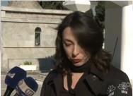 'Λύγισε' η Αλίκη Κατσαβού στην κηδεία της Έρρικας Μπρόγιερ (video)