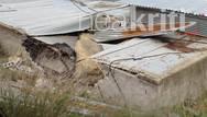Τεράστιος βράχος έπεσε σε σπίτι στο Ηράκλειο