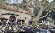 Ράγισαν καρδιές στην κηδεία του Θεόδωρου Νιτσιάκου (video)