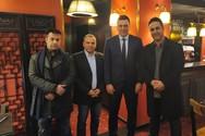 Βασίλης Κικίλιας - Συναντήθηκε με μέλη της Ένωσης Αστυνομικών Υπαλλήλων Αχαΐας