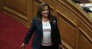 Ντόρα Μπακογιάννη: 'Λάθος η μη συμμετοχή της Ελλάδας στη Διάσκεψη του Βερολίνου'