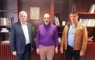 Αχαΐα: O Χρήστος Νικολάου συναντήθηκε με τον Χαράλαμπο Μπονάνο