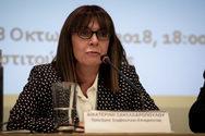 Οι Δικαστές ΣτΕ συγχαίρουν την Αικατερίνη Σακελλαροπούλου