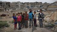 ΟΗΕ: Πέντε εκατ. παιδιά εκτοπίστηκαν εξαιτίας του πολέμου στη Συρία