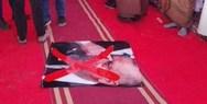 Λιβύη - Ποδοπατούν φωτογραφίες του Ερντογάν (φωτο)