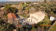 Αχαΐα: Η ιστορική Ιερά Μονή Αναλήψεως από ψηλά (φωτο)