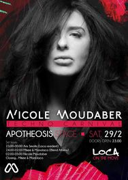 Nicole Moudaber at Apotheosis stage