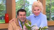 Ποιον άντρα υποδέχθηκε απρόσμενα η Ελένη Μενεγάκη στο πλατό; (video)