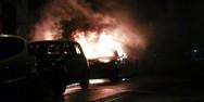 Νέοι εμπρησμοί σε αυτοκίνητα - Επιθέσεις σε Μαρούσι, Αθήνα και Αγ. Παρασκευή