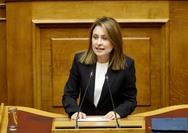 Χριστίνα Αλεξοπούλου: 'Εάν δεν μας είχατε κυβερνήσει, θα είχαμε αυτοκινητόδρομο'
