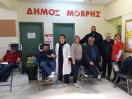 Αχαΐα: Mε επιτυχία πραγματοποιήθηκε αιμοδοσία στα Σαγέικα (φωτο)