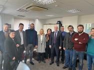 Το σπιράλ στο Νεκτάριο Φαρμάκη - Επίσκεψη της Πολιτικής Γραμματείας στην Περιφέρεια