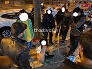 Θεσσαλονίκη: Αιματηρή συμπλοκή μεταξύ αλλοδαπών (video)