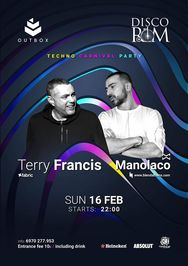 Terry Francis & Manolaco at Disco Room