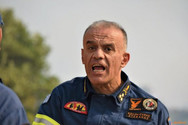 Ο αντιστράτηγος Στέφανος Κολοκούρης νέος αρχηγός του Πυροσβεστικού Σώματος