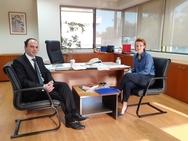 Συναντήσεις του Λάμπρου Δημητρογιάνη στο Υπουργείο Περιβάλλοντος