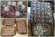 Ο Πατρινός που έβαλε σκοπό του να αναβιώσει τα κέρινα αυγά στα Καρναβάλια του σήμερα! (pics)