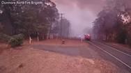 Κάμερα κατέγραψε την σοκαριστική ταχύτητα μιας δασικής πυρκαγιάς (video)