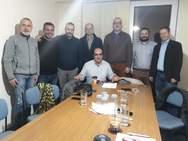 Συνάντηση του Προεδρείου του 10ου Π.Τ. Βορειοδυτικής Πελοποννήσου και Δυτ. Ελλάδας με το Δ.Σ. της ΕΛΦΕΕ Ν. Αχαΐας